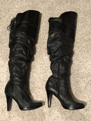 Black Slouchy Jessica Simpson Over the Knee or Knee High size 7.5 or 37.5 for Sale in Thornton, CO