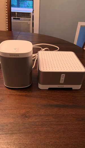 Sonos Play 1 and Sonos Connect:Amp for Sale in Redmond, WA