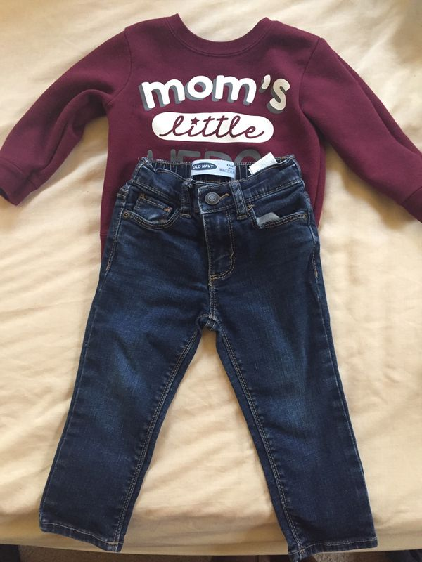 Toddler boys fall clothing
