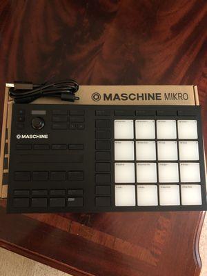 Native Instruments Maschine Mikro MK3 Mini Beat Mixer Maker for Sale in Plainville, MA
