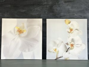 Wall Canvas Orchid Picture Frames (2 pieces) for Sale in West Covina, CA