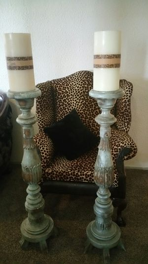 Big candelabras 2 pieces. for Sale in Mesquite, TX