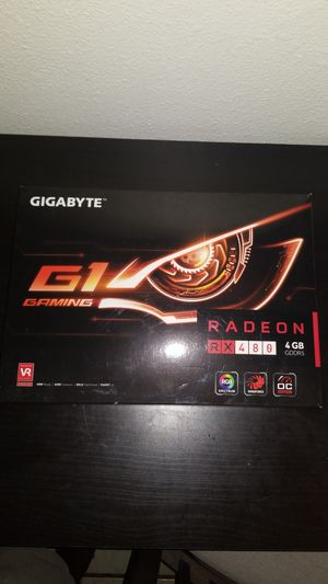 AMD Radeon RX 480 (4GB) Graphics Card for Sale in Long Beach, CA