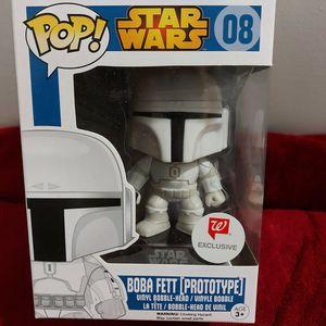 Pop Funko Boba Fett Prototype Star Wars 08 for Sale in Homestead, FL