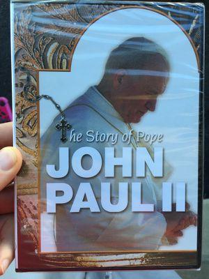 John Paul II DVD story. New sealed for Sale in Ashburn, VA