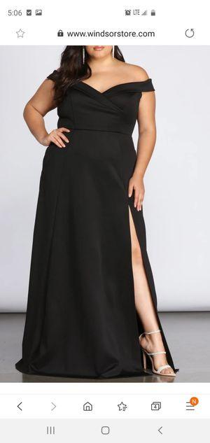 Prom dress black 1X for Sale in Elk Grove, CA