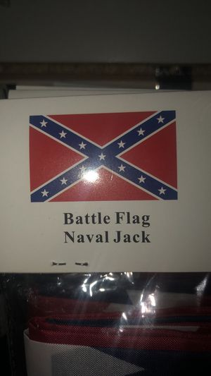 Brand new battle flag 3 x 5 for Sale in Kearney, NE