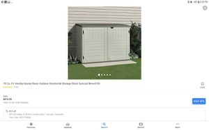Rubbermaid outdoor shed for Sale in Pasadena, CA