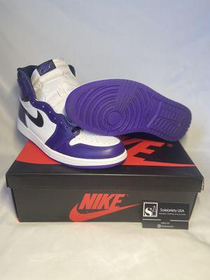 Jordan 1 'Court Purple' 2.0 for Sale in Vallejo, CA