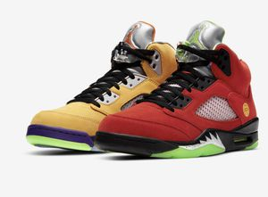 "Air Jordan 5 retro ""what the"" 7y for Sale in Redondo Beach, CA"