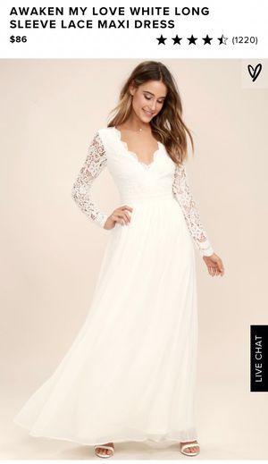 Brand new Lulu's wedding dress, never worn for Sale in Morton Grove, IL