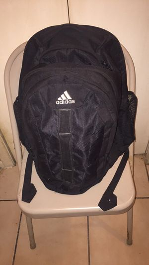 ADIDAS (NEVER USED) BLACK BACKPACK - Go to school in style! for Sale in Hollywood, FL