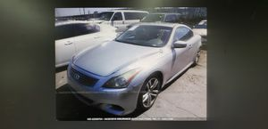 2008 Infiniti G37. ONLY FOR PARTS for Sale in Miami, FL