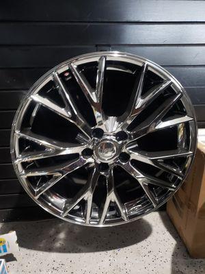 19/20 staggered Corvette Z06 replica rims fits: C7 stingray & z51 for Sale in Chandler, AZ