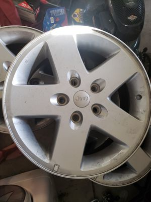 "17"" Jeep Wheels for Sale in Roseville, CA"