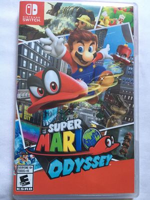 Super Mario Odyssey- Nintendo Switch for Sale in Anaheim, CA