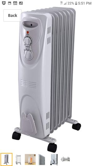 Pelonis HO-0201 Oil Filled Portable Radiant Space Heater - new in box for Sale in Portland, OR