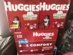 Huggies diapers size 2 for Sale in Los Angeles, CA