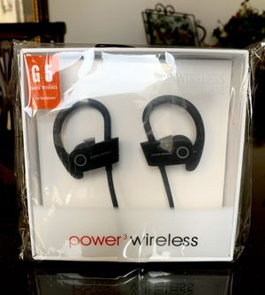Black Wireless Earphones for Sale in Norco, CA