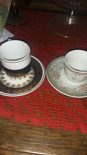 12 set miniture tea cup sets for Sale in South Attleboro, MA