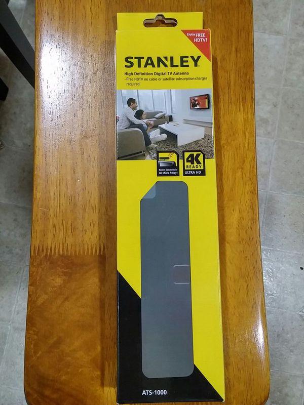 NIB Stanley HDTV Digital TV antenna 4k ready ATS-1000
