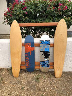 Custom Skateboard room decor for Sale in Spring Valley, CA
