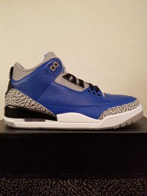Air Jordan 3 Retro Blue Cement Men's Size 8 for Sale in Los Angeles, CA