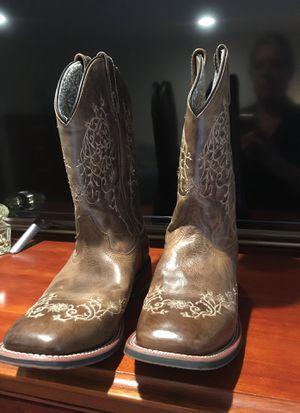 Laredo Western Boots Women's 10M Brand New, worn once for 10 mins for Sale in Redmond, WA