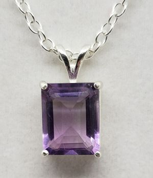 Natural 11x9mm Amethyst Necklace for Sale in Justin, TX