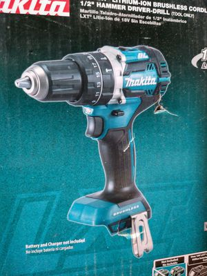 New Makita XPH12Z 18V LXT Lithium-Ion Brushless Cordless 1/2 Hammer Driver-Drill for Sale in Brockton, MA