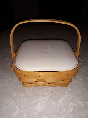 Square 1998 Longaberger Basket for Sale in Bourbonnais, IL