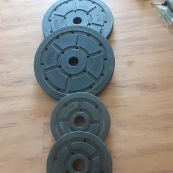 Olympic plates 35s,10s Weights for Sale in San Diego,  CA