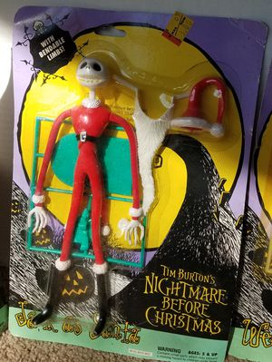 Hasbro Nightmare before Christmas figures for Sale in Phoenix, AZ