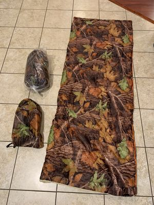 New Camouflage Sleeping bags qty 2 for Sale in West Los Angeles, CA