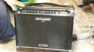Black Behringer amplifier. for Sale in NEW KENSINGTN, PA