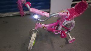 "Huffy three princess Cinderella Belle Rapunzel kids 12"" bike bicycle for Sale in Hyattsville, MD"