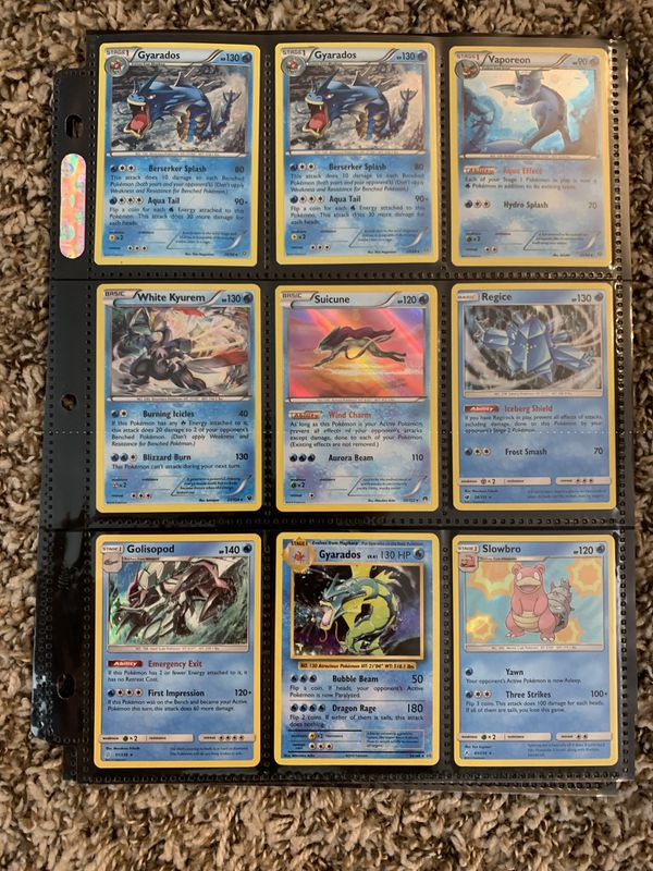 Collection of 108 Pokemon Cards