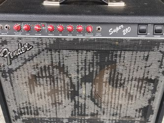 Fender Red Nob Amp Super 210 Stopped Working for Sale in Olympia,  WA