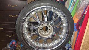 """20"""" rim's (4) with 255/35zr20 tires (4) for Sale in San Bernardino, CA"""