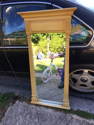 Nice large mirror only 40 firm for Sale in Severn, MD