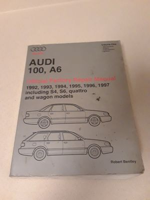 1992-1997 Audi 100, A6 factory service manual for Sale in Spring, TX