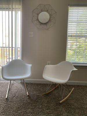 White rocking chairs for Sale in Reston, VA