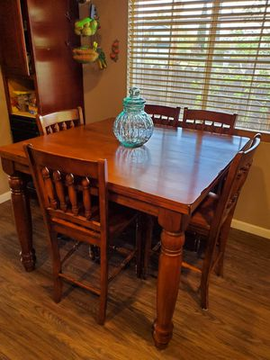 Bar height Kitchen Dining Room Table- Seats 8 for Sale in Bethel Island, CA