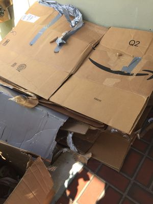 Free moving boxes for Sale in Hollywood, FL