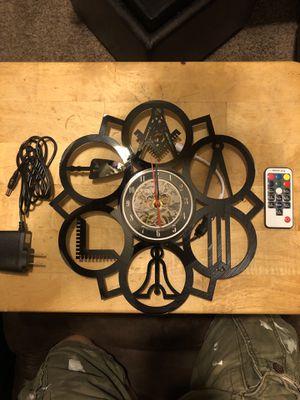 Masonic led clock with remote control for Sale in Prattville, AL