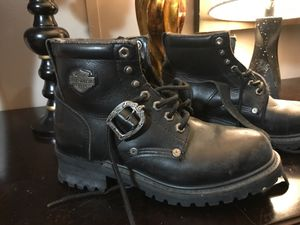 Size 9 women's Harley Davidson boots for Sale in Denton, TX