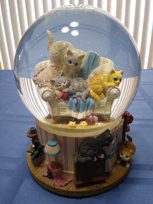 Musical Kitten Snow Globe for Sale in Fort Wayne, IN