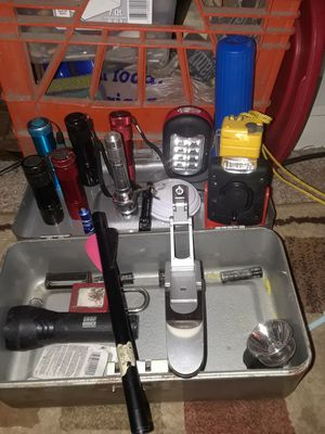 Assortment of flashlights sold by the piece or as a bundle for Sale in Mansfield, OH