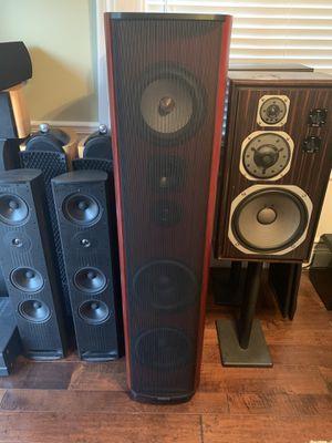 Krell Resolution 1 tower speakers $11,000 new, asking $3500 for Sale in Hemet, CA