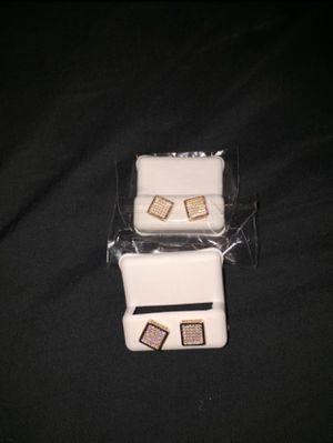 Diamond earrings for Sale in Decatur, GA